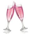 Champagne rose 5