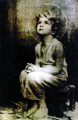 Photo miraculeuse jesus enfant