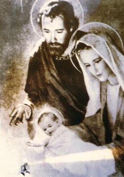 Photo miraculeuse sainte famille 1